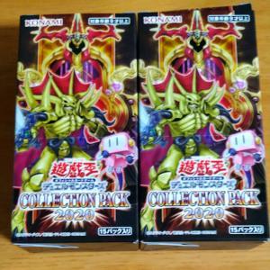 COLLECTION PACK2020(コレクションパック)2箱開封結果!