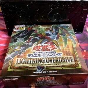 【遊戯王 開封】「LIGHTNING OVERDRIVE(ライトニング・オーバードライブ)」開封結果!