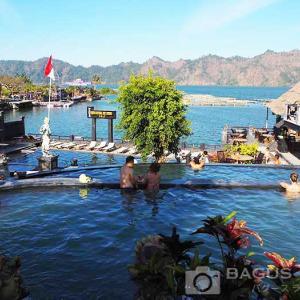 世界遺産の大自然が広がるキンタマーニ温泉で絶景風呂を体験しよう!