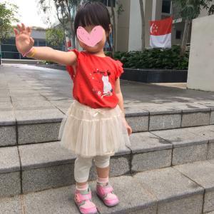 幼稚園のナショナルデーイベントと虫除けリング♡