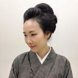 日本髪×着物×ベビーカーでスーパーに行く勇気はなかった