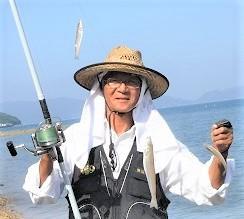 猛暑での釣り服?