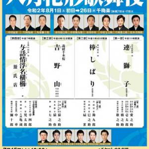 初心者おススメ!八月花形歌舞伎2020