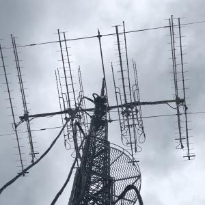 [EME] 天候が崩れる前に作業実施、1200MHz 30x4x2=240エレ完成