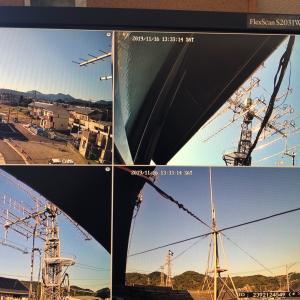 [DIARY] 監視カメラ取付作業完了