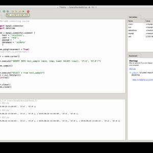 【Python3】データベースにデータを登録する方法(完成編)