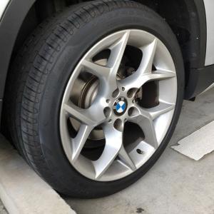 タイヤ交換 BMW X1 225/45R18 91V ピレリ チントゥラート P7