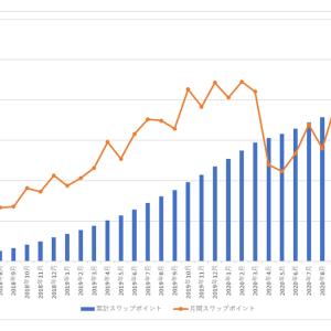 南アランドの積立FXの状況(2021年5月)