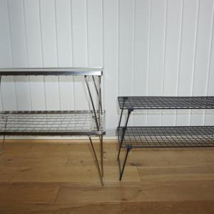 フィールドラックに似た IKEA¥399のシューズラックがキャンプにも使える!