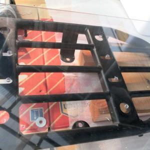 荷台へのボックス装着記録