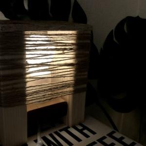 【端材でDIY】100均電球でオシャレなホテルっぽい照明が作れる!作り方も超簡単♪