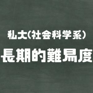 【真の知的さ】全国69私大の長期的難易度ランク(法・経済・経営)