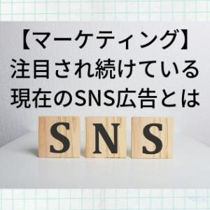 【マーケティング】注目され続けている現在のSNS広告とは
