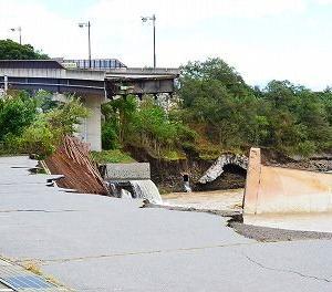 ◆東御市台風19号被害! 田中橋など5つの橋が全壊や一部崩落などの被害!行方不明者も・・・ 長野県 東御市