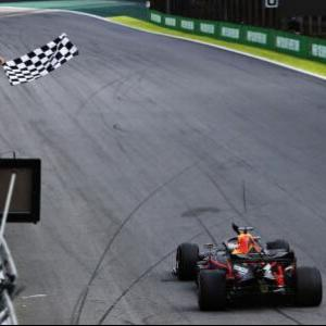 【F1決勝レース】ホンダがワンツー!本田宗一郎の誕生日にセナ以来28年ぶりのポール・トゥ・ウィン!ガスリー初表彰台!/F1ブラジルGP