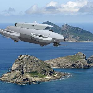 夢創艦隊 新世代 54式無人攻撃機