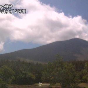 浅間山で火山性地震増加 噴火警戒レベルは1を継続