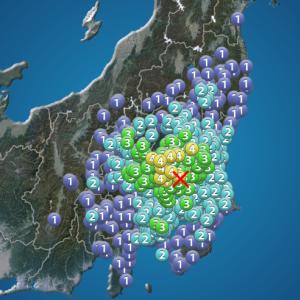 今日の浅間山 2020年7月9日(木)  大雨に地震