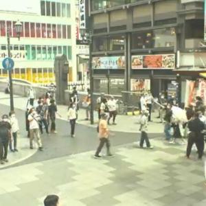 今日の浅間山 2020年7月11日(土)繁華街