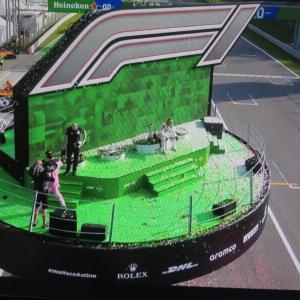 今日の浅間山 2020年9月7日(月)アルファタウリHONDA・ガスリー、イタリアGP優勝