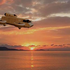 夢創艦隊 新世代 55式無人小型輸送機