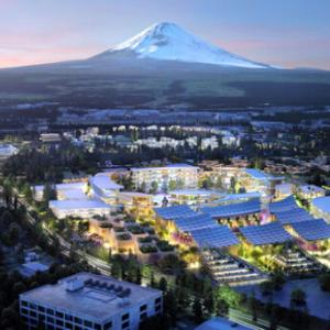 今日の浅間山 2021年2月25日(木)TOYOTAの未来都市「ウーブン」に、未来はあるか?