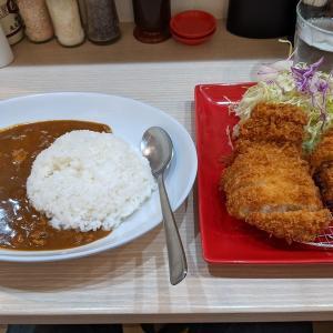 東京都千代田区飯田橋 ロース&ヒレカツカレー