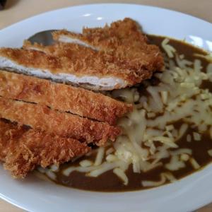 東京都千代田区神田 ロースカツとチーズのカレー
