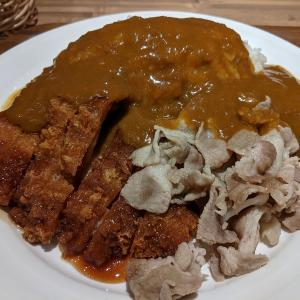 東京都 有楽町 チキンカツと豚しゃぶのカレー