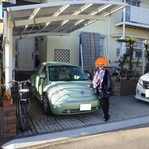 新しい自動車、到着!