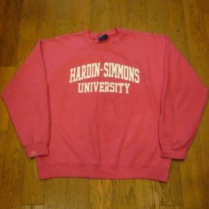 HARDIN-SIMMONS UNIVERSITY スウェットシャツ、他3点UPしました !!