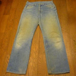 80年代製 Lee 200 デニムストレート パンツ 他3点UPしました !!