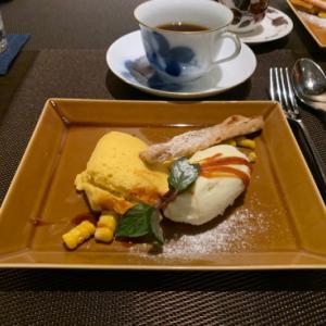 鎌倉のカフェバーでトウモロコシのムース