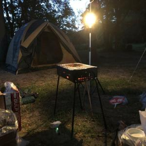 滋賀県のキャンプ場「グリーンパーク山東」に行ってきたよ。