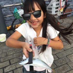 回遊魚なら釣れるかな・・・アジ☆彡横浜