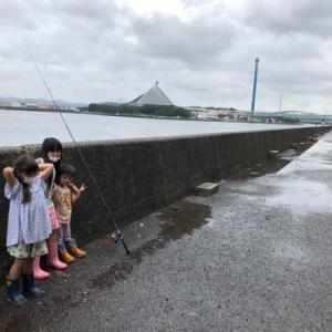 大雨後に短時間釣行〜狙いはタコ☆彡福浦