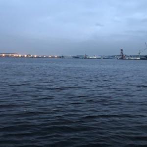 直近2回ともアタリがあったポイントへタチウオ釣行☆彡横浜