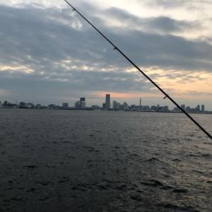 10月の太刀魚ウキ釣り1戦目☆彡横浜中部