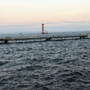 久しぶりの場所でタチウオ狙い☆彡本牧海釣り施設