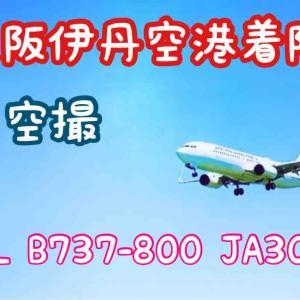 ◆伊丹空港 着陸◆