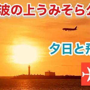 ◆那覇・波の上うみそら公園 夕日◆