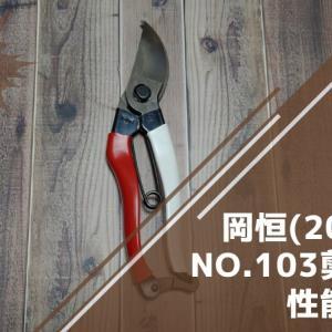 岡恒 剪定鋏 200mm NO.103の性能・研ぎ方・手入れ方法を解説