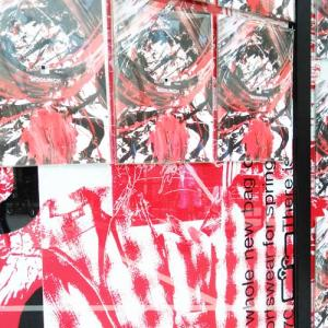 アートブック「WOOLRICH TOKYO ART BOOK」のポスティングへ