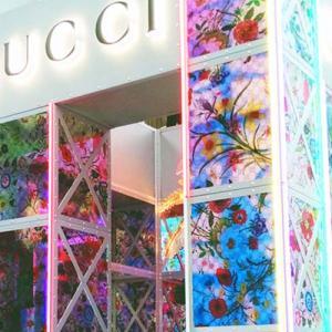 渋谷PARCOとGUCCIのクリスマスインスタレーション