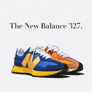 レトロ・ランニングシューズをモダンデザインに再構築したニューバランス「327」