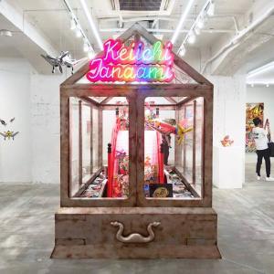 田名網敬一の新作個展「記憶の修築」へ