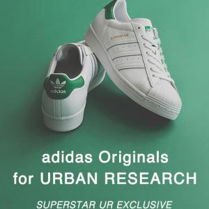 adidas OriginalsとURBAN RESEARCHによるSUPERSTAR登場