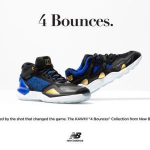 カワイ・レナードからインスピレーションを得たコレクション「THE KAWHI 4 Bounces」が登場