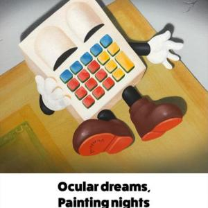 高木 真希人「Ocular dreams,painting nights.」開催