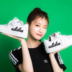 めるるデザイン監修「adidas Originals for atmos FORUM LOW」